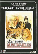 Les Miserables -  UK Region 2 Compatible DVD Jean, Bernard ,Jean-Paul Le Chanois