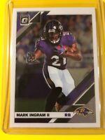 🔥🔥2019 OPTIC MARK INGRAM II Base #11 Baltimore Ravens