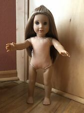 "American Girl Doll of the Year 18"" McKenna Retired EUC NUDE"