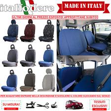 FODERE COPRISEDILI SU MISURA Fiat Panda 2003>2011 Foderine SET COMPLETO +COLORI