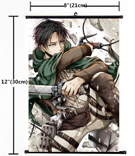 HOT Anime Attack on Titan Wall Poster Scroll Home Decor Cosplay 1460
