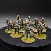Painted 28mm Bolt Action German grenadier/volksgrenadier ×10 Squad #3