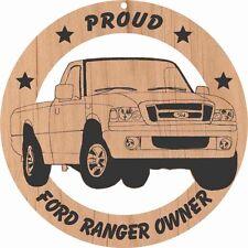 Ford Ranger Pickup Wood Ornament Engraved