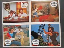 ZWEI SCHLITZOHREN IN DER GELBEN HÖLLE - 18 Aushangfotos + Kleinplakat 1974