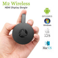 Wireless Miracast HD Wifi Display TV Dongle Receiver 1080P HDMI AirPlay Receiver