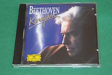 "CD BEETHOVEN ""KARAJAN"" EXTRAITS DE SYMPHONIES / DEUTSCHE GRAMMOPHON, TB ETAT"