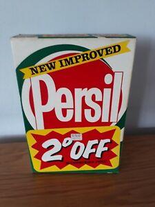 Vintage Unopened New 1lb 2 1/2oz Persil Washing Powder Retro Box 1970/80' Prop