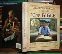 Heston, Charlton CHARLTON HESTON PRESENTS THE BIBLE  1st Edition 1st Printing