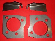 Bremsscheiben Adapter für Corsa A B Tigra Umbau Scheibenbremse HA c20xe c20let