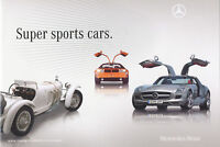 Mercedes Super Sports Cars Prospekt GB 2010 brochure prospectus broschyr catalog