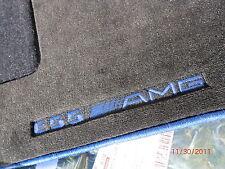 Mercedes-Benz E55 AMG FLOOR MAT MATS W210 E320 E430 E420 ORIGINAL NAVY BLUE NEW