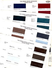 1965 CHEVROLET CADILLAC PONTIAC OLDSMOBILE BUICK INTERIOR 65 PAINT CHIPS DUPONT7