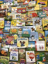 Lot of 10 Colorful Board Books for Toddlers, Babies, Preschools, Kindergartens