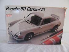 Vintage Fujimi Testors 1/24 Scale 1973 Porsche 911 Carrera Model Kit #393 NIB