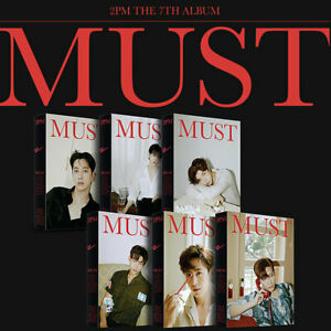 2PM [MUST] 7th Album LIMITED EDITION CD+Photo Book+3 Card+2 Poster+Paper+Sticker