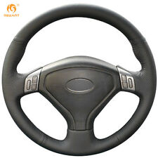 Black Leather Wheel Cover for Subaru Forester Legacy 2004-2006 Outback 2004 2005