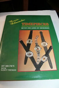 Book:  COMIC CHARACTER TIMEPIECES SEVEN DECADES OF MEMORIES    1992