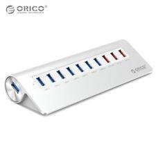 ORICO Aluminum Alloy USB3.0 7-Port + 3-Charging-Port USB HUB with USB Cable HQ