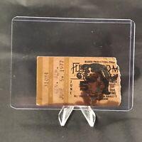 Fleetwood Mac Tad Gormley Stadium LA Concert Ticket Stub Vintage June 5 1977