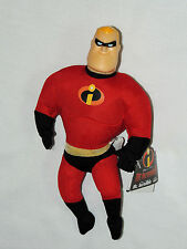"NEW W/TAGS DISNEY  THE INCREDIBLES  MINI PLUSH 11"" PLASTIC HEAD   PARTY SUPPLIES"