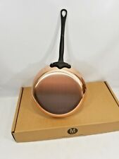 "Mauviel France MPRO Professional M250C 2.5mm Copper 10"" Frying Pan NIB"