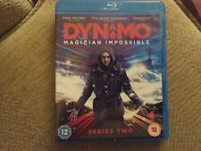dynamo magician impossible series two blu ray freepost in very good condition