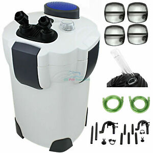 200 Gallon Aquarium Cylinder Filter Uv 9w Ultraviolet Germicidal Lamp Fish Tank