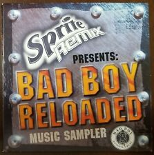 Sprite Remix Presents: Bad Boy Reloaded Music Sampler CD Promo US 2003 VG+/NM!!