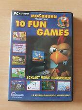 Moorhuhn: 10 Fun Games (PC, 2003, DVD-Box)