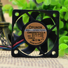 SUNON GM0506PFV2-A Cooling Fan DC 5V 1.4W 60mm x 60mm x 10mm