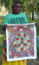 Australian Aboriginal Art by Molly Peterson 64cmx52cm Bush Banana Dreaming