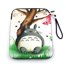 Totoro Soft Sleeve Bag Case Cover Pouch w/Strap for Apple iPad Air 1/ iPad Air 2