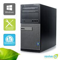 Custom Build Dell Optiplex 990 MT  I5-2400 3.10GHz Desktop Computer PC