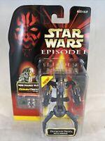 1999 Hasbro | Star Wars Episode 1 | Destroyer Droid Battle Damaged CommTech