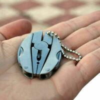 Folding Pocket Tool Plier Mini Keychain Multi Function Screwdriver Keyring T1X3