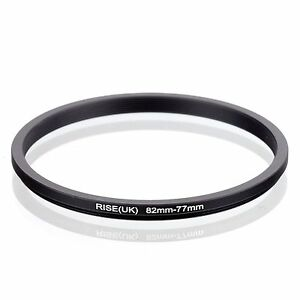 RISE(UK) 82-77MM 82 MM- 77 MM 82 to 77 Step Down Ring Filter Adapter