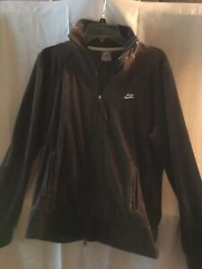 nike brown track suit jacket size xl