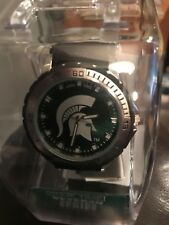 Michigan State Univ Game Time  Mens WATCH Veteran Series NEW in Package