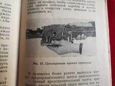14.5 mm Kpvt Heavy Machine Gun Vtg Manual Ussr Weapon Btr Brdm-2 Russian Rare