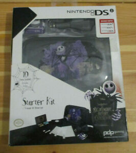 Nightmare Before Christmas Nintendo DS 10 in 1 Starter Kit NEW Case Car Charger