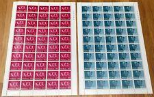 Norway Full Sheet 1972 Interjunex 72 Overprint - Complete Set - MNH