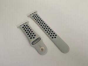 Genuine Apple Watch Nike Sport Band Strap Pure Platinum / Black 44mm 42mm