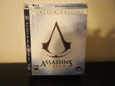 Playstation 3 Assassin's Creed Limited Edition Mature 17+ Blu-ray Disc Set