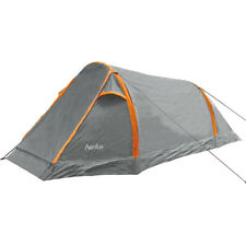 Highlander Aeolus 2 Person Tent Double Airpole Inflatable Army Shelter Rock Grey