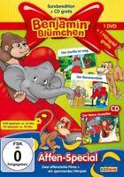 Benjamin Blümchen - Affen-Special [DVD + CD][NEU/OVP]