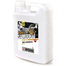 Huile IPONE SAMOURAI Fraise Bidon 4L + 1l gratuit  5L 2T 100% synthèse 2 Temps