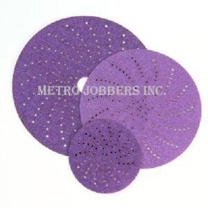 "3M 31483 6"" 320+ Grade Cubitron II Clean Sanding Hookit Abrasive Discs 50/Box"