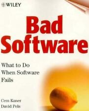 Bad Software: What To Do When Software Fails-ExLibrary
