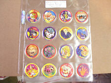 RALY CAPS POGS/MILKCAPS BY J.C. RALY CORPORATION 1994 COMPLETE SET OF (32)