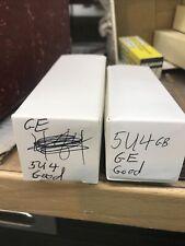 2- Ge 5U4 Used Tested Good